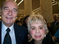 *Président Jacques CHIRAC & Morgane BRAVO*