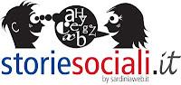 logo storie sociali marchio registrato sardiniaweb opera di Fabrizio Piredda