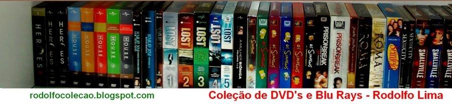 Coleção de DVD's e Blu Rays (Séries e Filmes) - Rodolfo Lima