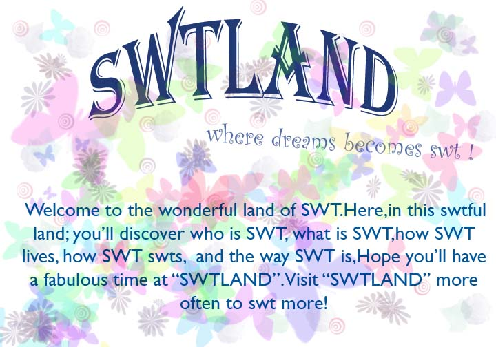 what i found when u type in swt in google... SWT4