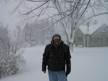 Stuck in a Minnesota snow storm.