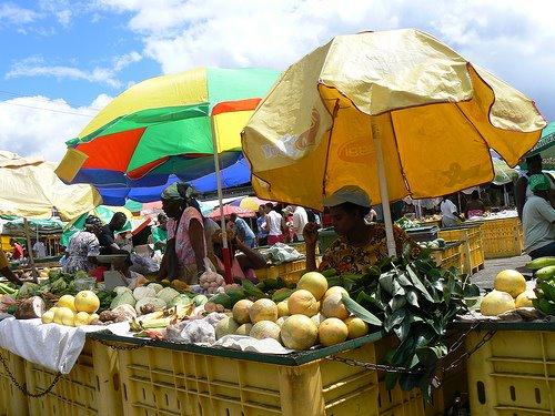 Roseau Market, Dominica