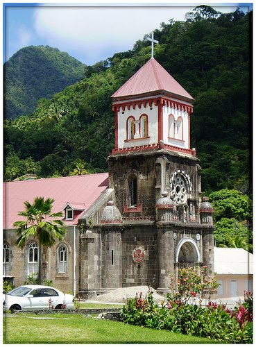 Church - Soufriere, Dominica