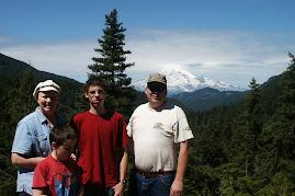 Us at Mt. Rainier