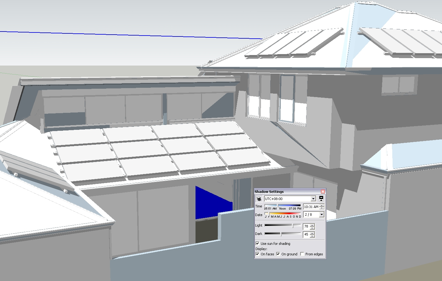 Aussie aca adt 2010 actually i tried out sketchup myself to be able to quickly review the sun path for a new display home im working on it allowed me to quickly test the pooptronica