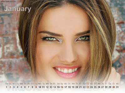 adriana lima wallpaper high resolution. adriana lima 2011 calendar.