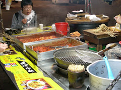 Korean outdoor eating