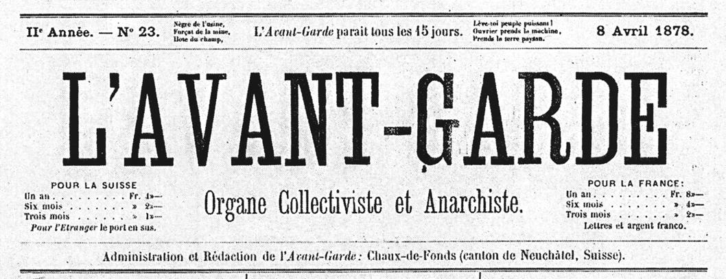 les mobilisations de l avant garde litteraire francaise en