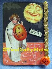 Vintage ATC Halloween Swap