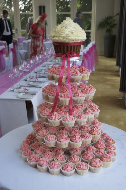 Vintage And Cake How About A Giant Cupcake Wedding Cake