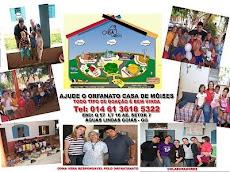AJUDE O ORFANATO CASA DE MOISÉS EM ÁGUAS LINDAS-GO (01461-3618-5322)