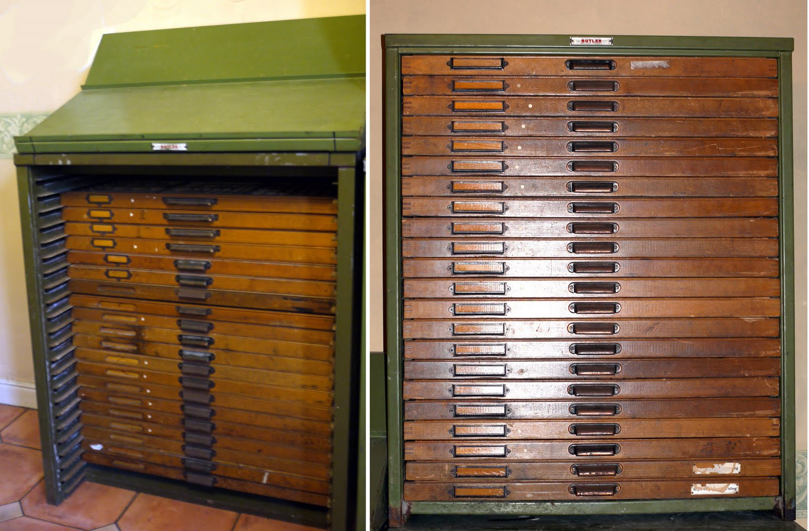 LETTERPRESS IN THE UK: Type Cabinets for sale