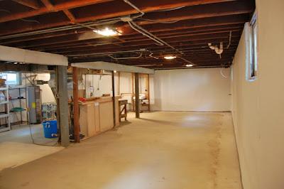 Remodeling our bungalow basement for Bungalow basement renovation ideas