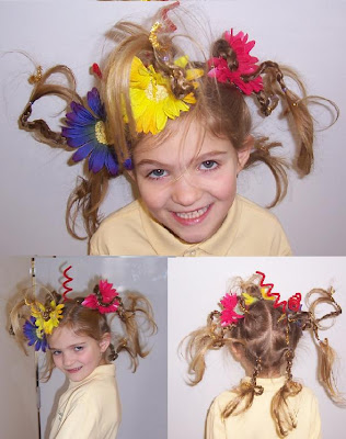 Crazy Hair  Ideas on Fun Frills  N More   It S A Hair Thing  Crazy Hair Day At School