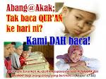 Berpeganglah Pada Quran & Sunnah Agar Tidak sesat selamanya..