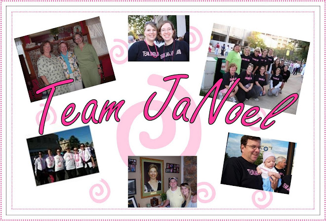 Team JaNoel Race for the Cure