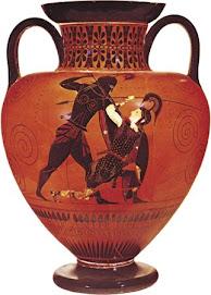 Aquiles y Pentesilea