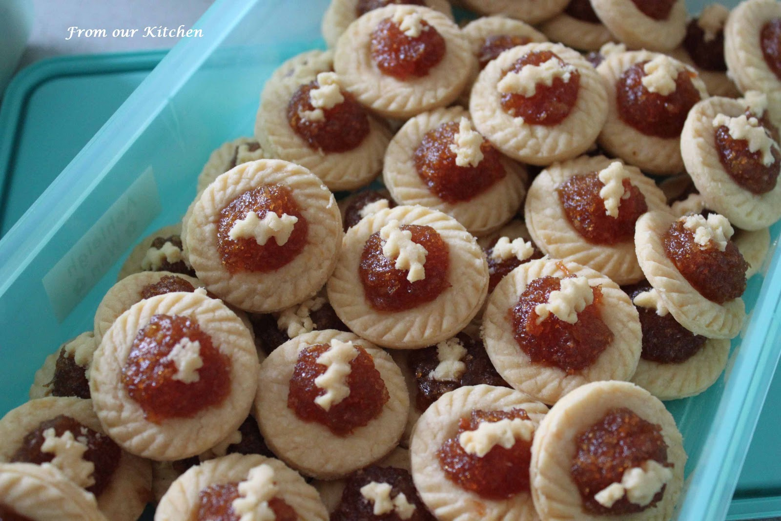 From Our Home: Malaysian Monday #3 - Pineapple Jam Tarts