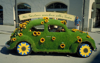 15 Cool Grass Covered Cars (16) 4