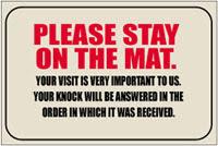 Interesting Door Mats 2