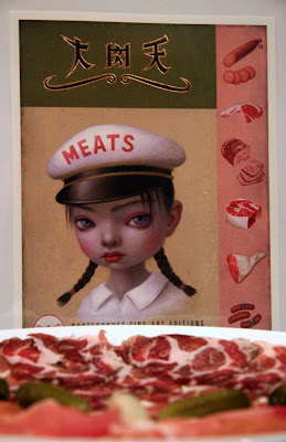 Another meat painting