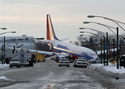 this aircraft landed on road instead of runway