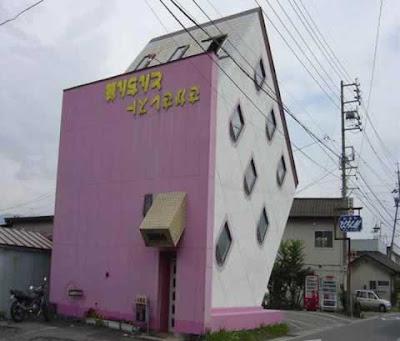 Japanese Upside-Down House