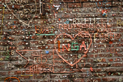 Gum Wall, Post Alley, Seattle (7) 2