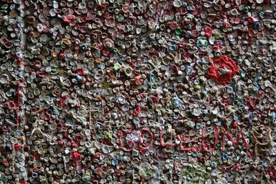 Gum Wall, Post Alley, Seattle (7) 6
