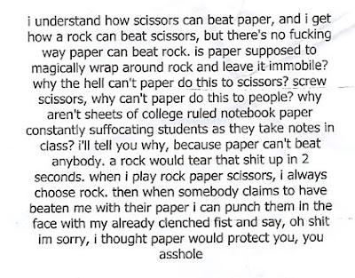Rock, Paper, Scissors (4) 3