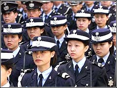 Women Police Officers Of Macau