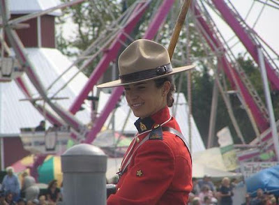 Royal Canadian Mounted Police Officer.