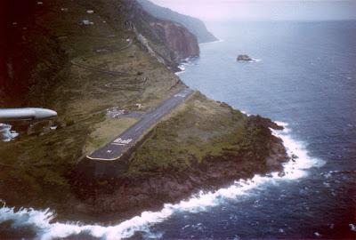 Saba's Yrausquin Airport -World's Shortest Commercial Airport Runway (8) 7