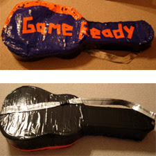 Duck Tape Guitar Case