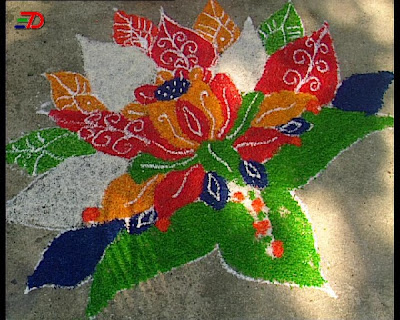 Colors Of India - Rangoli (23) 7