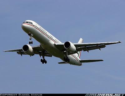 Mexico's President plane 2