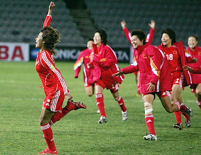 PRC women's national football team