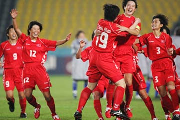North Korea women's national football team