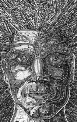 Artwork using currency notes (9) 4