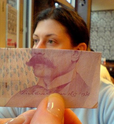 Illusion created using banknotes (11) 1