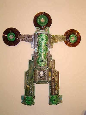 28 Creative and Cool Ways To Reuse Old Computer Parts (30) 25