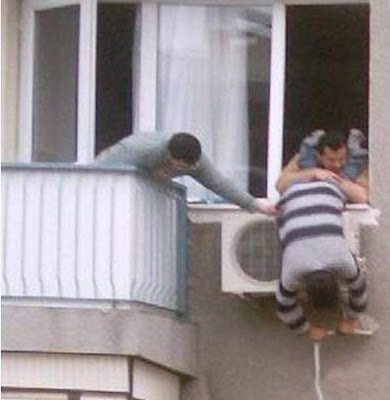 Air conditioner installer.