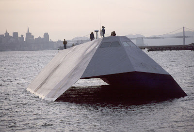 Sea Shadow Stealth Ship (6) 1