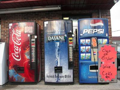 Pepsi & Coke