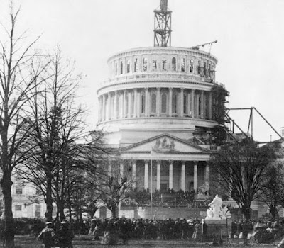Capitol Building under construction