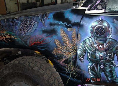 Custom Painted Cars (18) 4