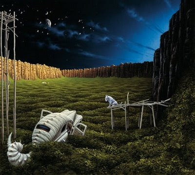 Fictional Surreal Art By Jacek Yerka (11) 11
