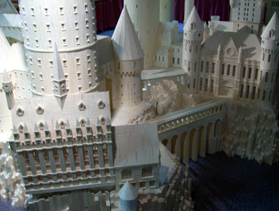 Matchstick Marvel of Harry Potter's Hogwarts 4