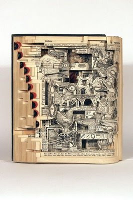 Cool Ways To Reuse Old Books (9) 7
