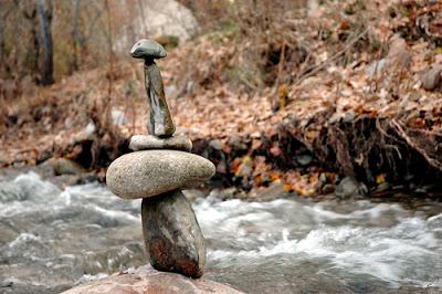 Rock Balancing 9
